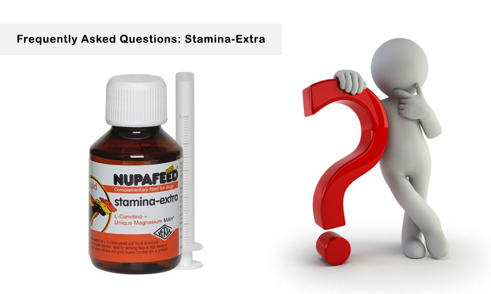 Nupafeed Dog_Stamina Extra_FAQ