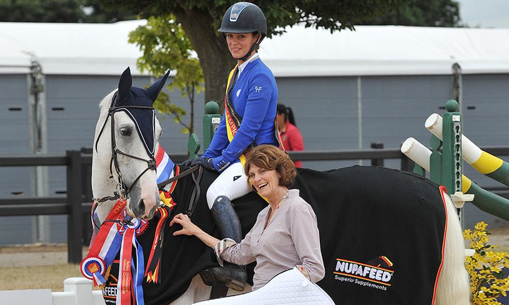 nupafeed senior discover showjumping rachael connor