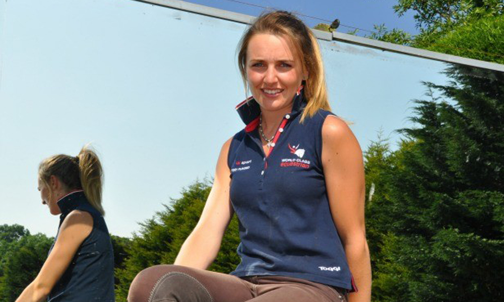 millie dumas eventing team gb