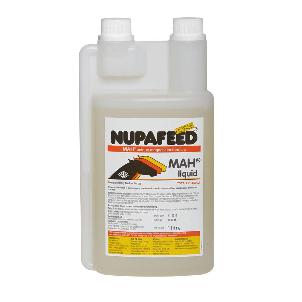 Nupafeed MAH Liquid Magnesium Horse Calmer 1ltr