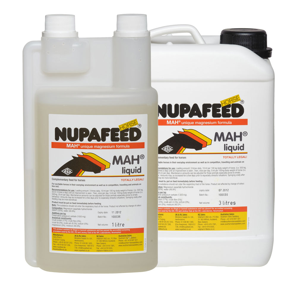 Nupafeed MAH Daily Liquid Magnesium Horse Calmer
