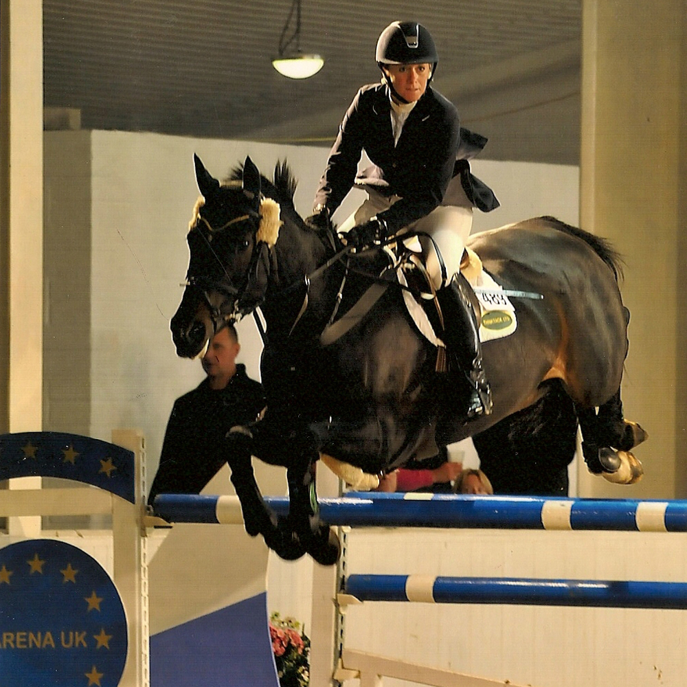 mia korenika showjumping coach