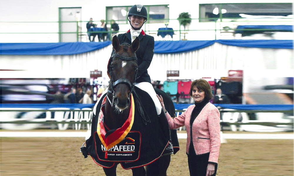 british dressage winner 2016 hannah biggs