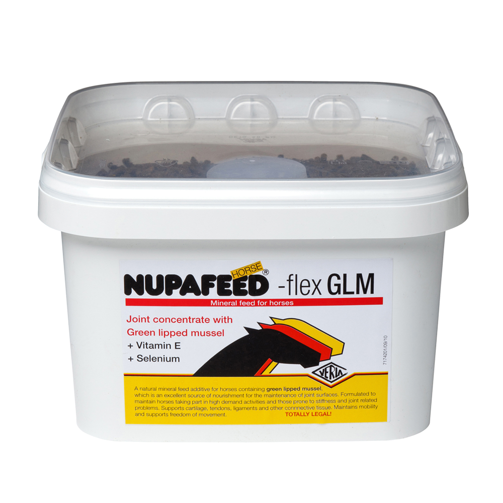 nupafeed flex glm joint supplement for horses