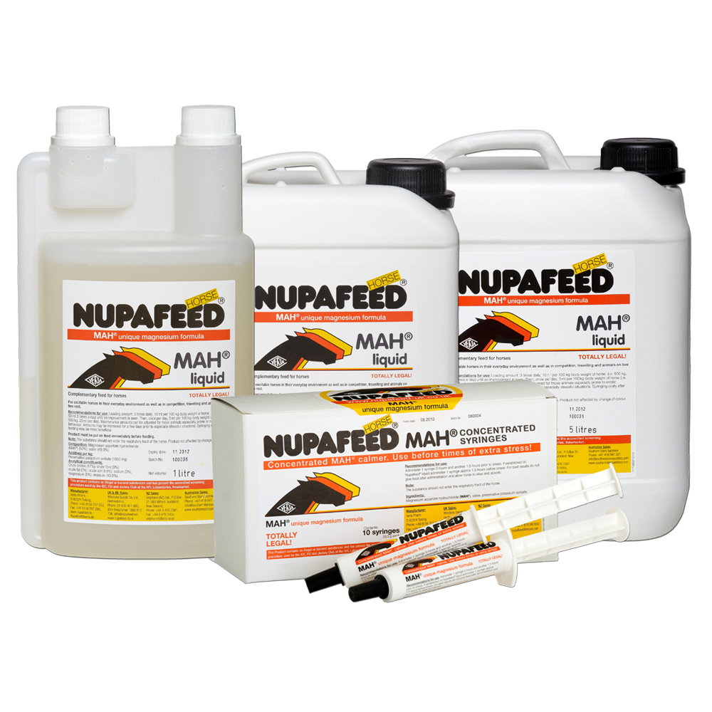 nupafeed mah magnesium calmer for horses