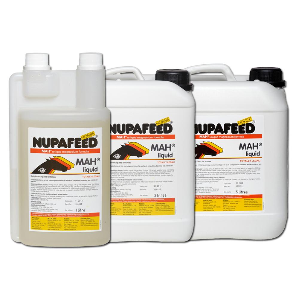 nupafeed mah liquid magnesium horse calmer