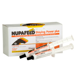 nupafeed staying power energy boost syringes for horses