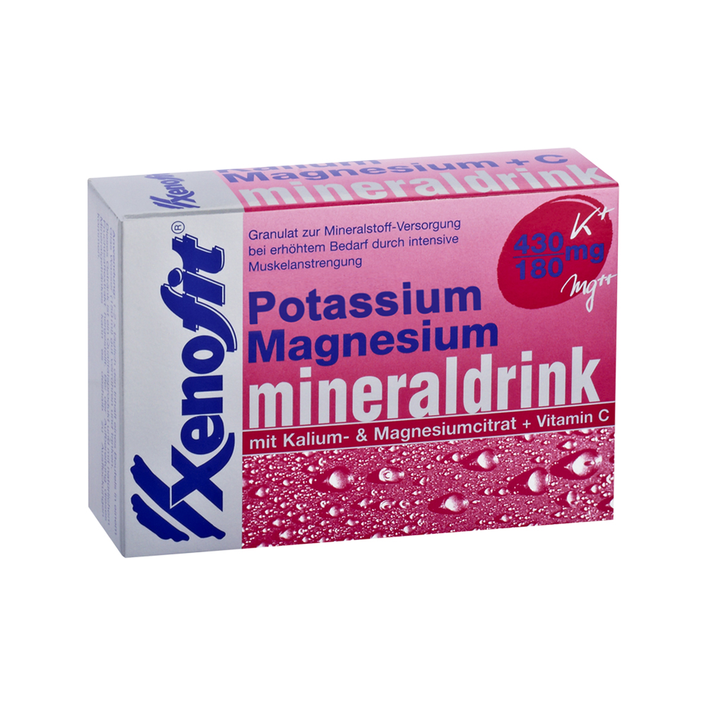 Xenofit Magnesium, Potassium and Vitamin C Mineral Drink