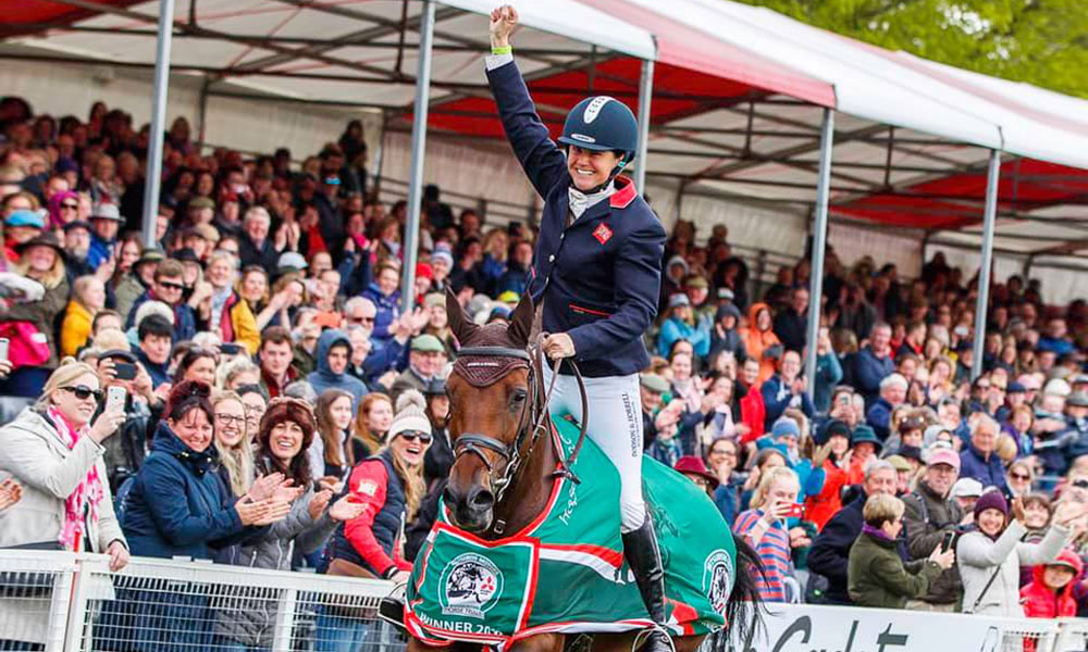 Badminton Horse Trials 2019 Winners Piggy French And